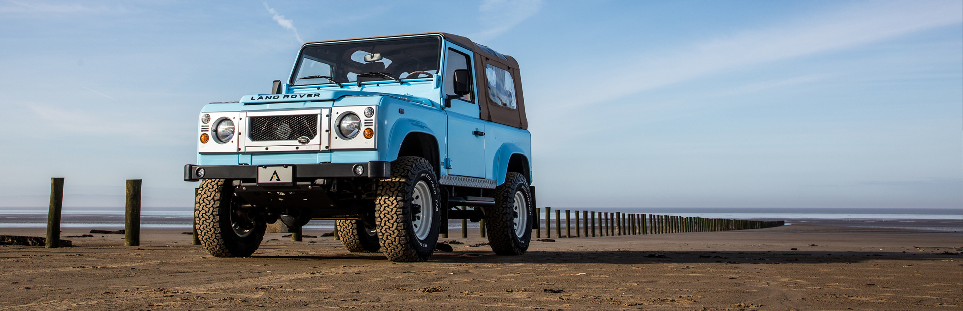 Arkonik Baja - Custom built Land Rover Defender 90