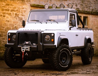 Arkonik Yeti custom Defender 110 Pick-up