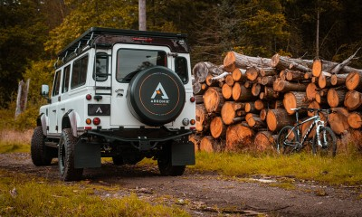 SWITCHBACK: Land Rover Defender 110 restored by Arkonik
