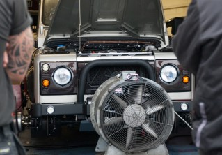 DYNO Testing:<br> Rover V8 Fine Tuning