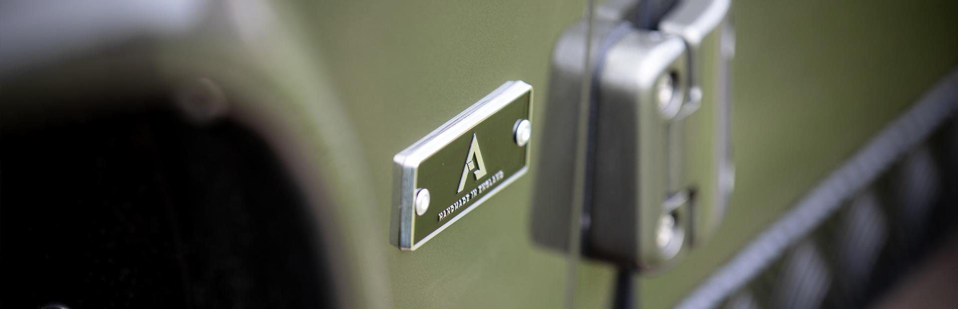 Arkonik Colt - Custom built Land Rover Defender 110