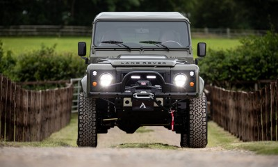 COLT: Defender 110 V8 restored by Arkonik