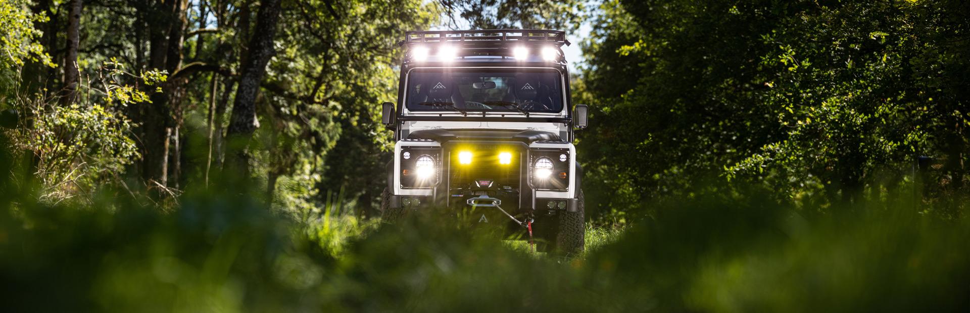 Arkonik Teton – Custom Land Rover Defender 110