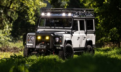 TETON: Defender 110 V8 restored by Arkonik