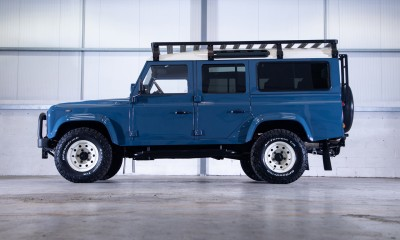 SKYE: Land Rover Defender 110 restored by Arkonik