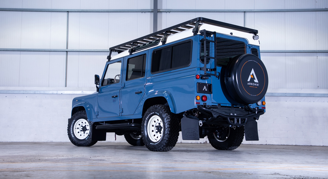 Skye Defender 110: Rear view