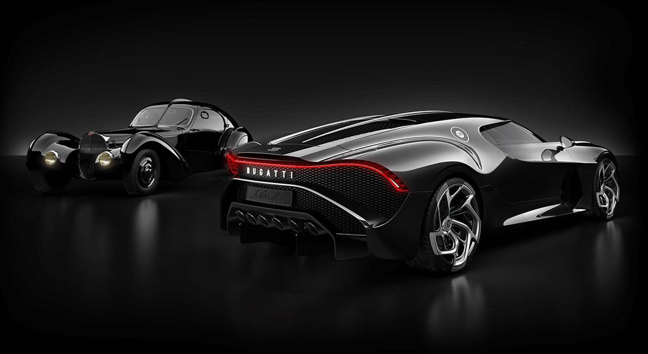 Bugatti – La Voiture Noire