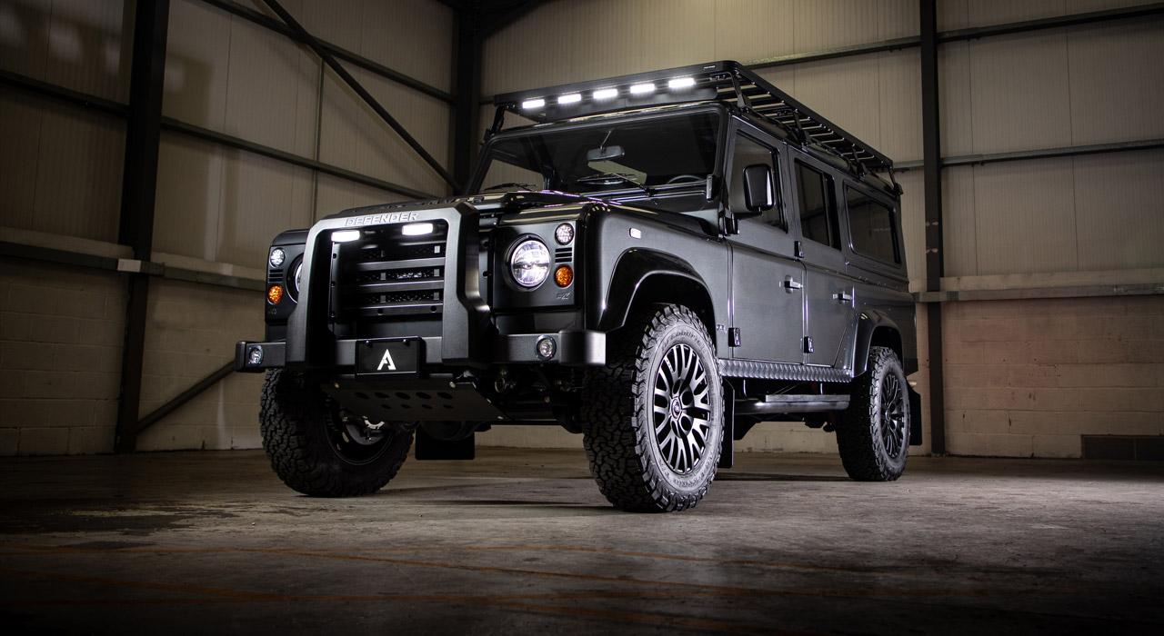Eclipse Land Rover Defender 110 side angle
