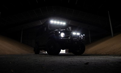BISON: Land Rover Defender 110 restored by Arkonik
