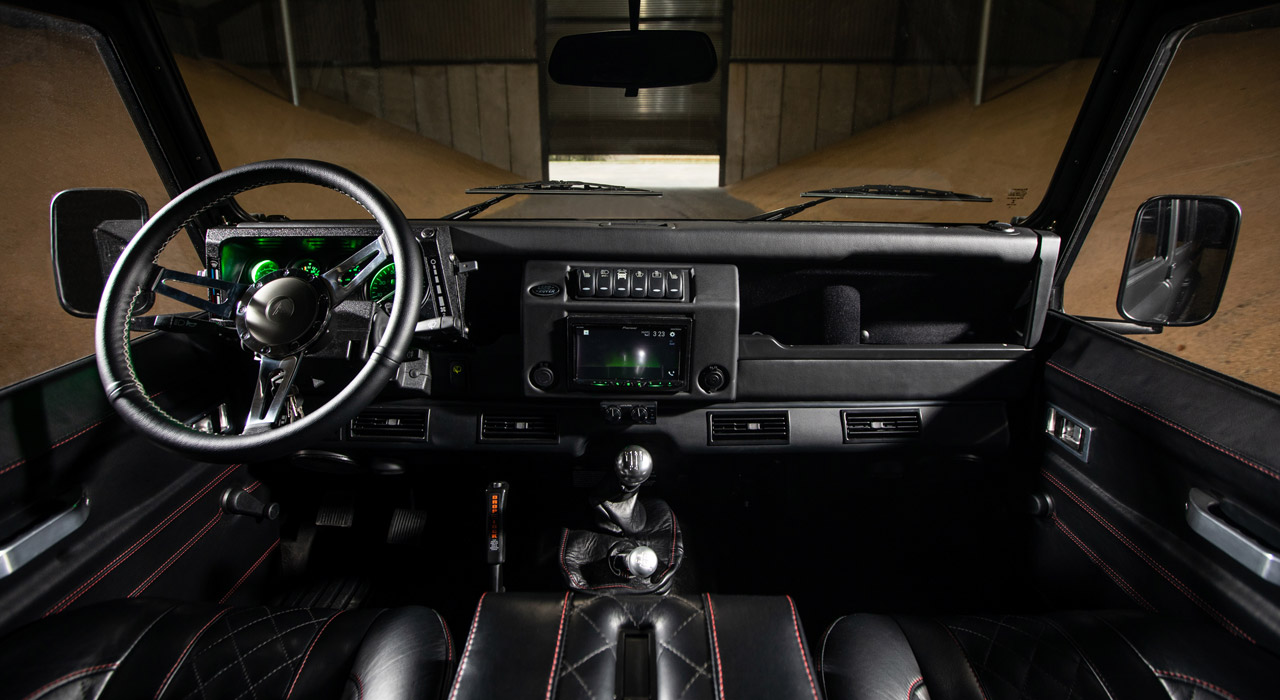 BISON | Land Rover Defender 110 by Arkonik | interior