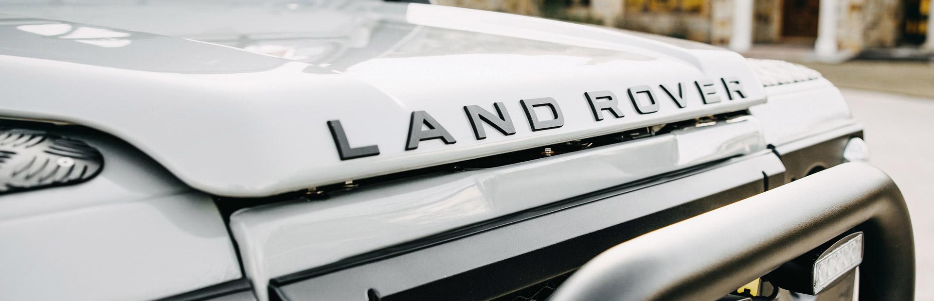 Arkonik Hamm - Custom built Land Rover Defender 90