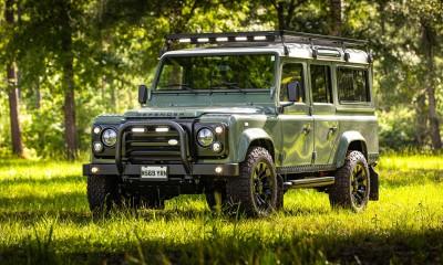 HAVEN: Land Rover Defender 110 restored by Arkonik