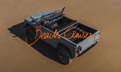 Land Rover Beach Cruiser by Etienne Salomé