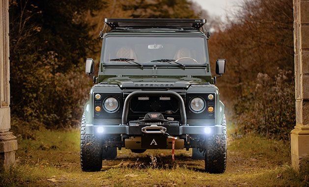 Arkonik Land Rover Defender featured in TopGear