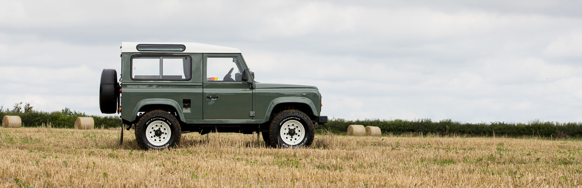 Arkonik Ranger - Custom built Land Rover Defender 90