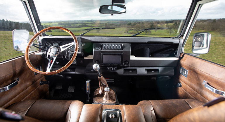 Interior view of Defender 110 by Arkonik
