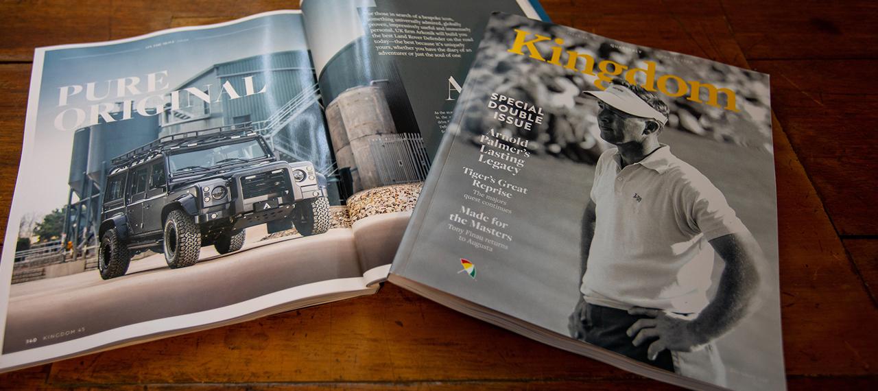 Arkonik Features in Kingdom Magazine