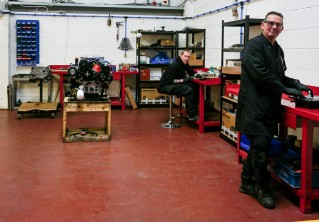 Engine Department Expansion now Complete