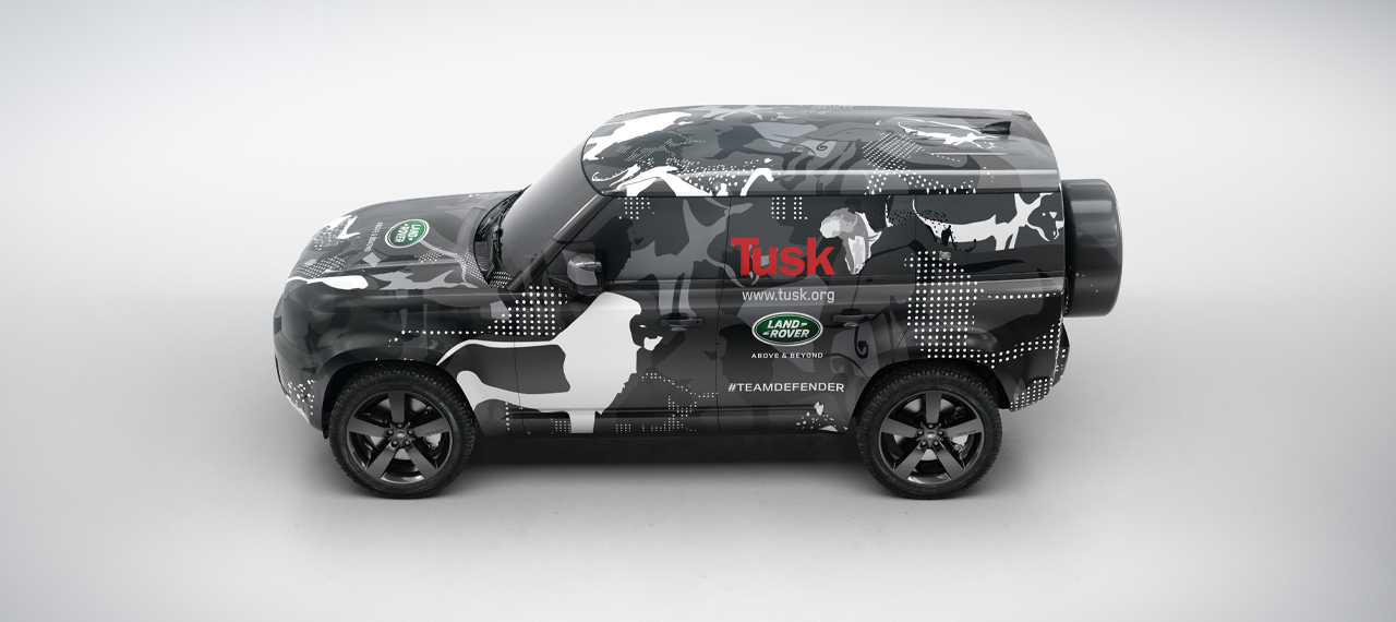 New Defender concept view from above