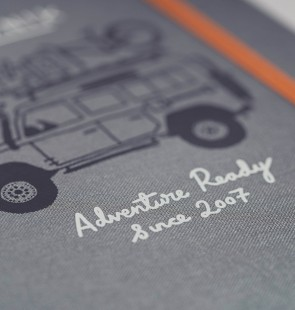 'Adventure-Ready' Notebook